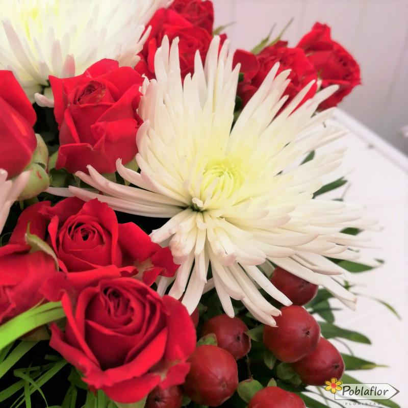 anastasia blanca rosa roja